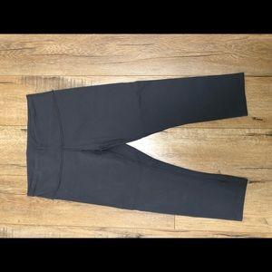 lululemon athletica Pants - Lululemon wonder under crop 6, gray